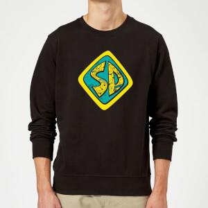 Scooby Doo Emblem Sweatshirt - Black