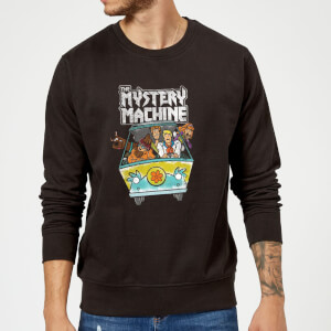 Scooby Doo Mystery Machine Heavy Metal Sweatshirt - Black
