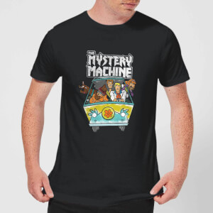 Scooby Doo Mystery Machine Heavy Metal Men's T-Shirt - Black