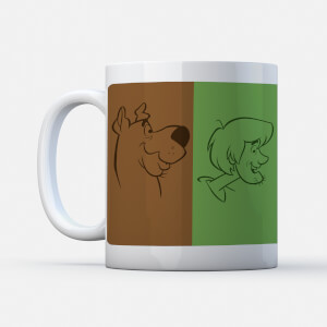 Tazza Scooby Doo The Gang Colours