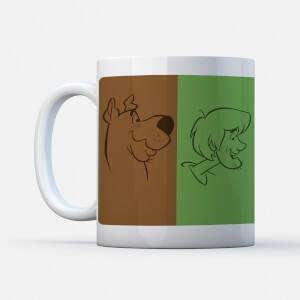 Scooby Doo The Gang Colours Mug