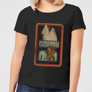 Scooby Doo Retro Ghostie Women's T-Shirt - Black