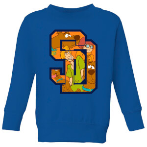Scooby Doo Collegiate Kids' Sweatshirt - Royal Blue