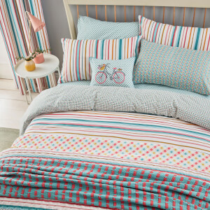 Helena Springfield Trixie Duvet Cover Set - Duck Egg