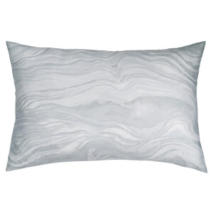 DKNY Quilted Marble Cushion - Grey