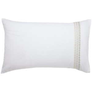 Helena Springfield Laurel Standard Pillowcase - Linen