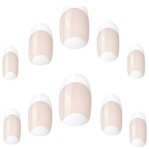 Elegant Touch French 108 Cuticle Moon Nails - Medium Length