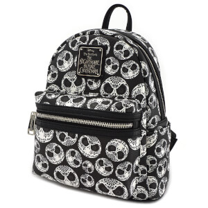 Loungefly Nightmare Before Christmas Sugar Skull AOP Mini Backpack