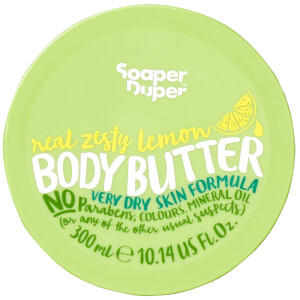 Soaper Duper Deluxe Zesty Lemon Body Butter
