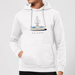 Friends Fountain Hoodie - White