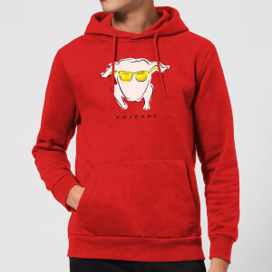 Friends Turkey Hoodie - Red