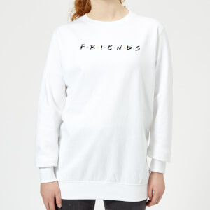 Friends Logo Women's Sweatshirt - White