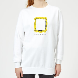 Friends Frame Women's Sweatshirt - White