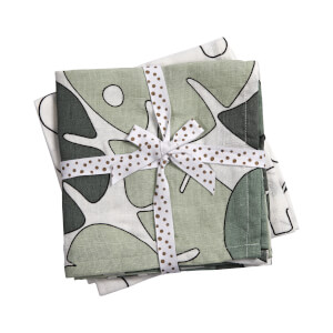 Done by Deer 2 Pack Swaddle Tiny Tropics