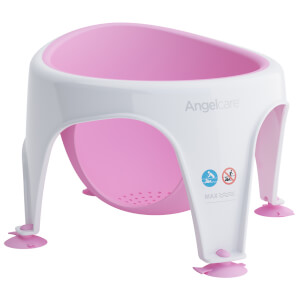 Angelcare Soft Touch Baby Bath Seat - Pink