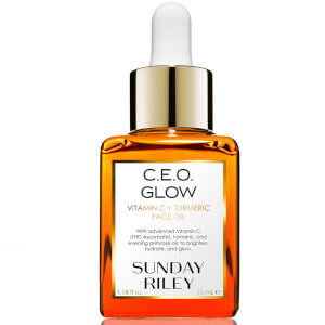 Sunday Riley C.E.O. Glow Vitamin C + Turmeric Face Oil 35ml (Worth $94)