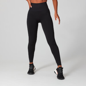 Leggings sem Costuras Ultra da MP para Senhora - Preto