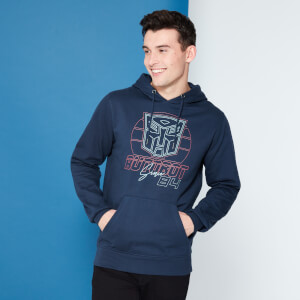 Transformers Autobot Depuis '84 Sweat à capuche - Navy