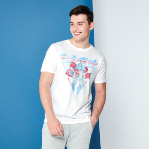Transformers Optimus Prime Retro Japanese T-Shirt - White