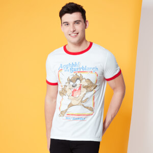 Looney Tunes Kaboom Collection Appetite For Destruction Men's T-Shirt - Red Ringer