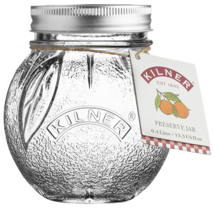 Kilner Orange Fruit Preserve Jar
