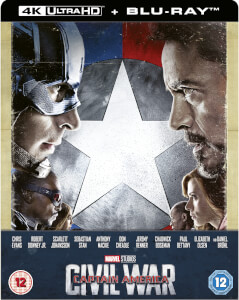 The First Avenger: Civil War 4K Ultra HD (inkl. 2D Blu-ray) Zavvi Exklusives Limited Edition Steelbook
