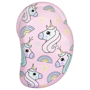 Tangle Teezer Original Mini Detangling Hairbrush - Unicorn Magic Print