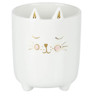 Parlane Porcelain Cat Planter