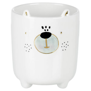 Parlane Porcelain Bear Planter
