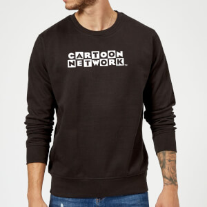 Cartoon Network Logo Sweatshirt - Black