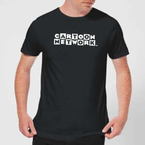 Cartoon Network Logo Men's T-Shirt - Black