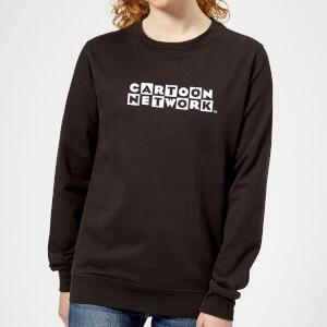 Cartoon Network Logo Women's Sweatshirt - Black