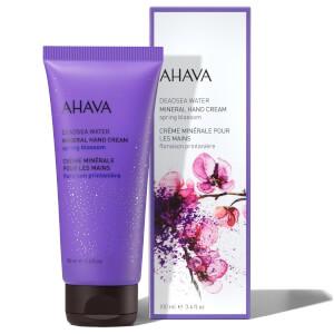 AHAVA Mineral Hand Cream Spring Blossom 100ml