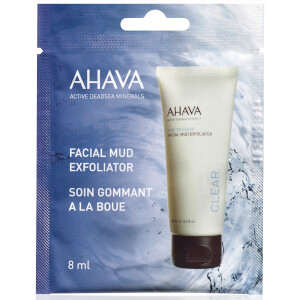 AHAVA Single Use Facial Mud Exfoliator 8ml