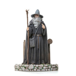 Iron Studios Lord Of The Rings Deluxe Art Scale Statue 1/10 Gandalf 23 cm