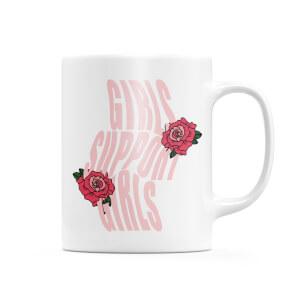 Girls Support Girls Mug