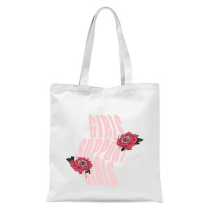 Girls Support Girls Tote Bag - White