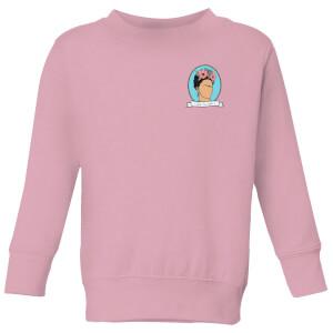 Viva La Vida Kids' Sweatshirt - Baby Pink