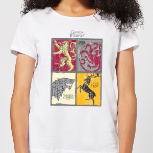 Game of Thrones Houses Damen T-Shirt - Weiß