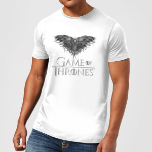 Game of Thrones Three-Eyed Raven Men's T-Shirt - White
