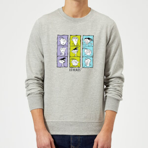 Ed, Edd n Eddy Heads Sweatshirt - Grey