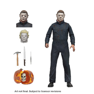 Figure articulée Michael Myers Ultimate (18 cm), Halloween 2 – NECA