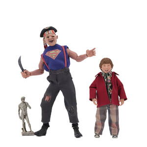 "NECA Goonies - 8"" Clothed Figure - Sloth and Chunk 2 Pack"