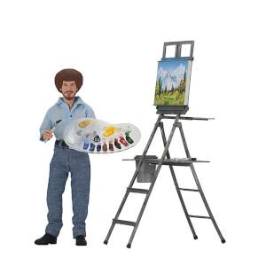 "NECA Bob Ross - 8"" Clothed Action Figure - Bob Ross"