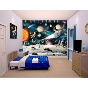 Walltastic Space Adventure Wall Mural