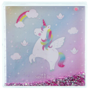 Sass & Belle Rainbow Unicorn Glitter Photo Frame from I Want One Of Those