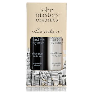 John Masters Organics London Kit for Dry Hair Shampoo and Conditioner 236ml