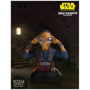 Mini-buste Maz Kanata de Star Wars : Le Réveil de la Force, échelle 1:6 14 cm – Gentle Giant