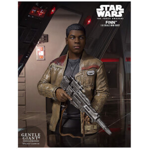 Gentle Giant Star Wars Force Awakens Finn 1/6 Mini Bust - 17cm