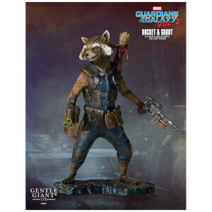 Gentle Giant Marvel Guardians of the Galaxy 2 Rocket & Groot Collectors Gallery Statue